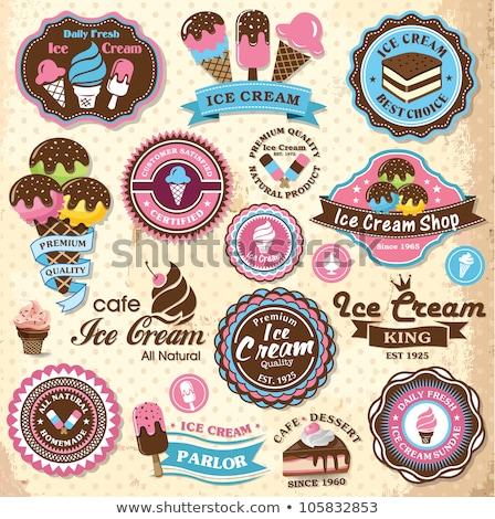 fagylalt · hideg · desszert · üzlet · nyár · épület - stock fotó © robuart