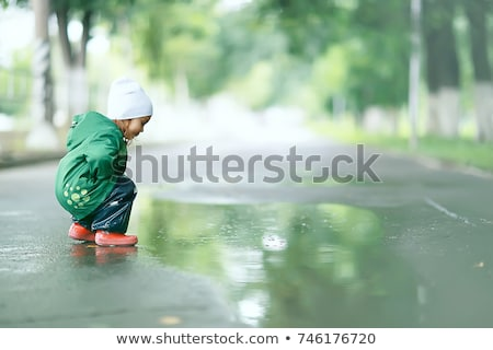 Green puddle Stock photo © montego