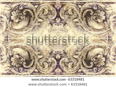 Stockfoto: Grunge · retro-stijl · frame · projecten · gedetailleerd