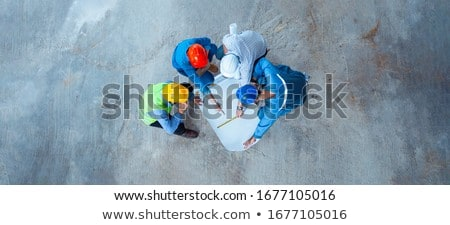 An architect and his foreman. Stock photo © photography33