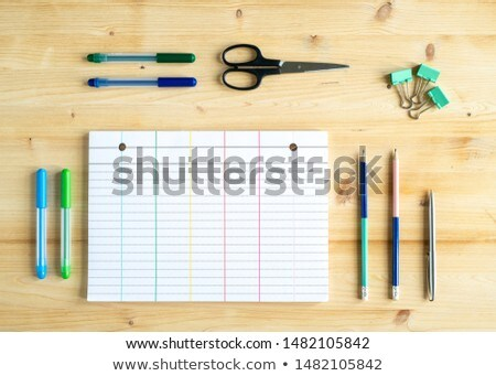 Group of objects for educational purposes or those for office manager Stock photo © pressmaster