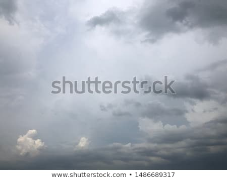 landscape with cloudy sky stock photo © broker