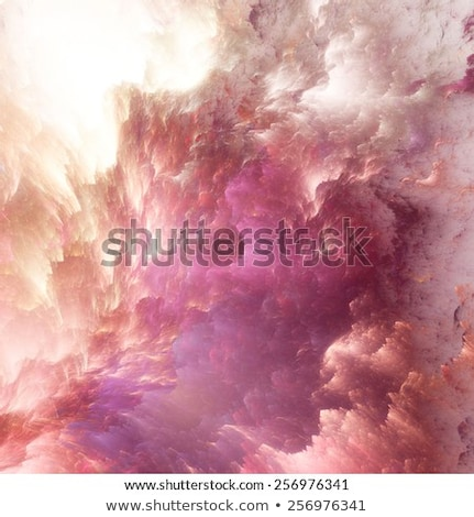 Background design of dreamy forms and colors on the subject of dream, imagination, fantasy and abstr Stock photo © fotoscool