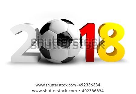 ドイツ サッカー ボール サッカー 3D ストックフォト © Wetzkaz