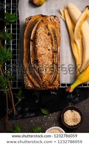 vegan · banán · csokoládé · klasszikus · szelektív · fókusz · háttér - stock fotó © zoryanchik
