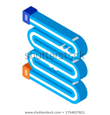 Bathroom Towel Dryer Heating Radiator isometric icon Stock photo © pikepicture