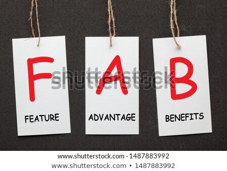Concept Featuring Business to Business Terms. Stock photo © tashatuvango