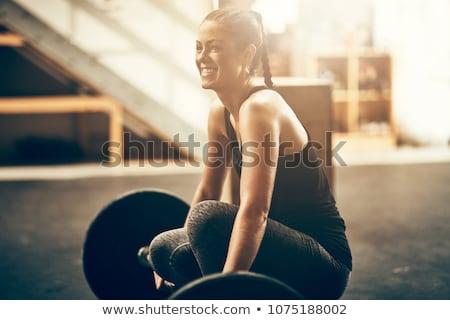 молодые Культурист улыбаясь пляж портрет мышечный Сток-фото © curaphotography