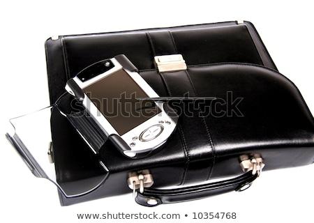électronique personnelles isolé blanche simulateur vintage Photo stock © michaklootwijk