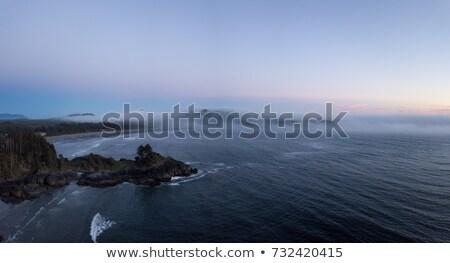Epic sunset at the ocean Stock photo © dariazu