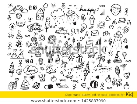 sketchy icons Stock photo © get4net