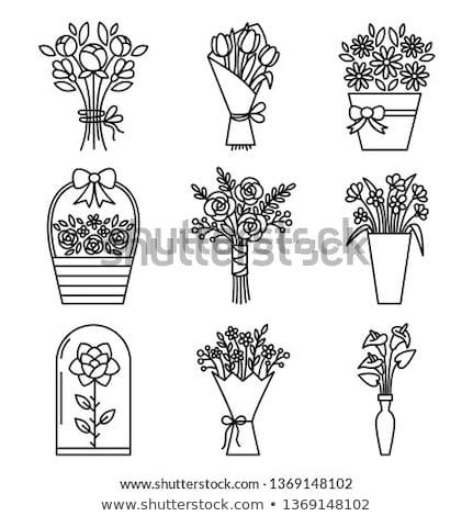 primavera · flores · buquê · isolado · branco - foto stock © robuart