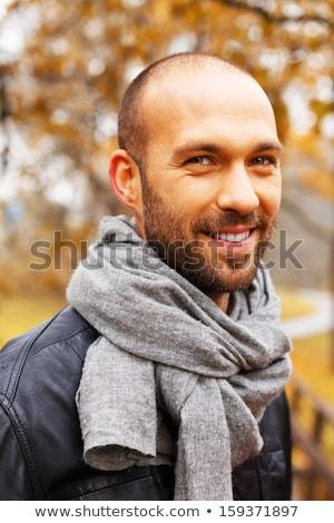 человека только красивой осень день Сток-фото © Lopolo