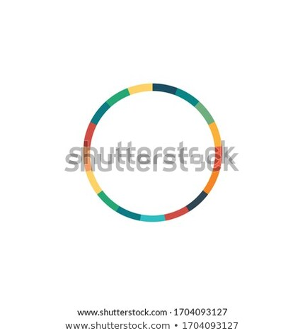 Modernes infographie cercle couleur 17 Photo stock © kyryloff