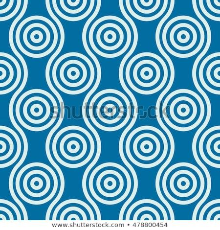 ベクトル シームレス 行 パターン 幾何学的な ストックフォト © samolevsky