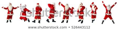 Noel baba jest kadın elbise Stok fotoğraf © stepstock