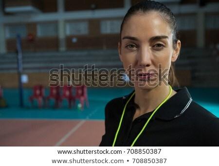 Close-up portrait of volleyball coach Stock photo © wavebreak_media