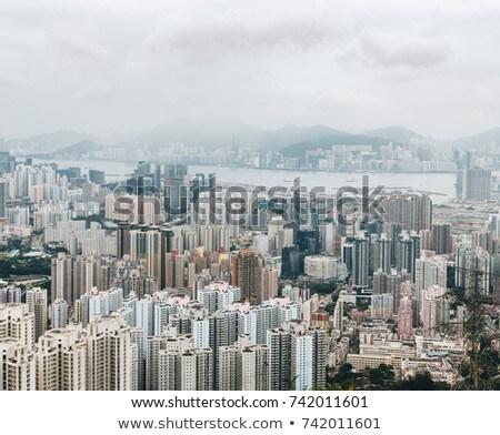 City scape storm scene Stock photo © bluering