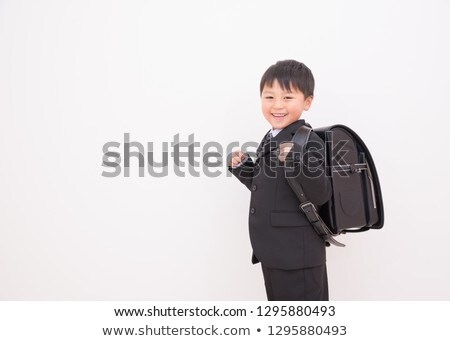 Cute Freshman of the entrance ceremony Stock photo © Blue_daemon