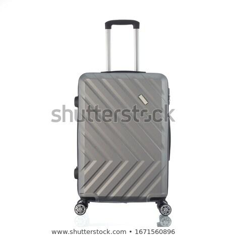 Travel case on white background Stock photo © tetkoren