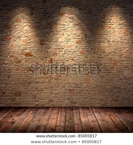 Foto stock: Madeira · stonewall · casa · edifício · parede · casa