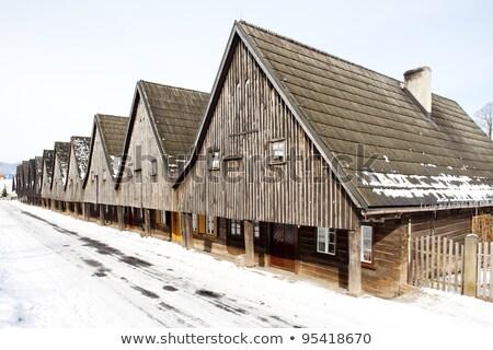 Uniemysl, Silesia, Poland Stock photo © phbcz