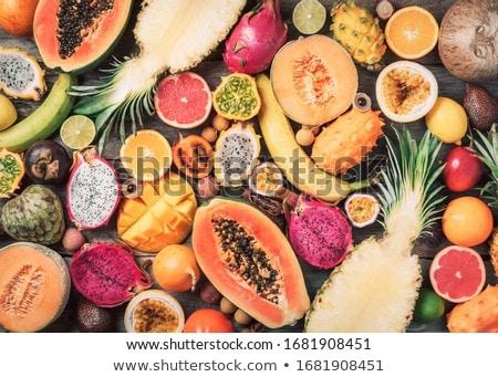 エキゾチック · ブルーベリー · テクスチャ · いい · 食品 · 背景 - ストックフォト © redpixel