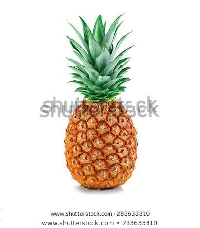 Pineapple isolated on the white background.  Stock photo © kayros
