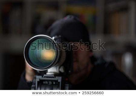 секретность · объектив · фото · ярко · написанный - Сток-фото © tashatuvango