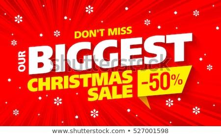 ストックフォト: クリスマス · 販売 · バナー · 星 · 背景
