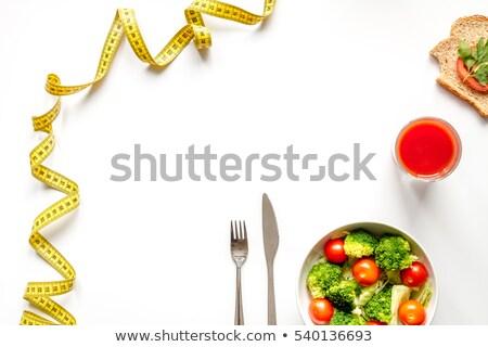 cereales · para · el · desayuno · leche · zumo · de · manzana · frescos · madera · vidrio - foto stock © dolgachov
