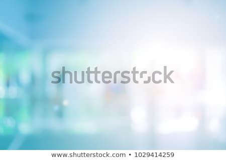 Hôpital bannière panoramique médicaux personnes Photo stock © Maridav