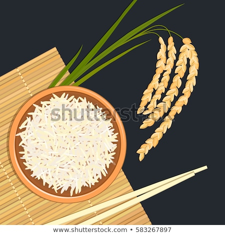Pile of bamboo mat Stock photo © pinkblue