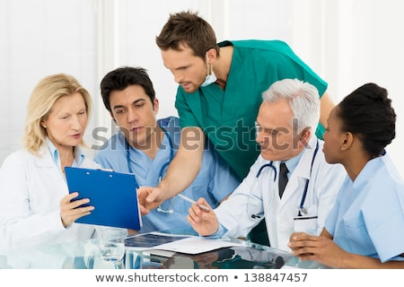 medical team with a clipboard stock photo © photography33