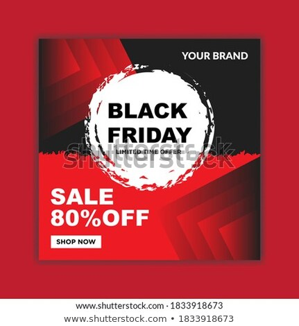 black friday with special design for your website Stock photo © place4design