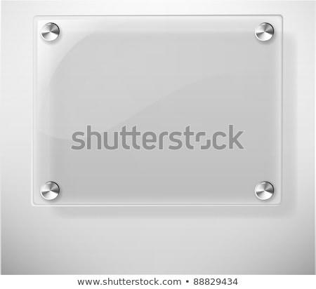 Resumen vector avión blanco pared tecnología Foto stock © sdmix