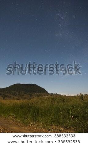 View of Mount Walker at night Stock photo © artistrobd