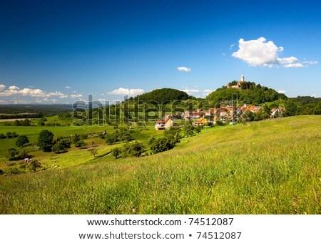 small village of Seitenroda  Stock photo © meinzahn