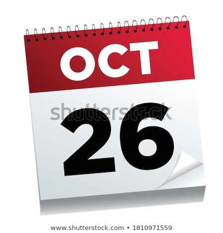 26th October Stock photo © Oakozhan