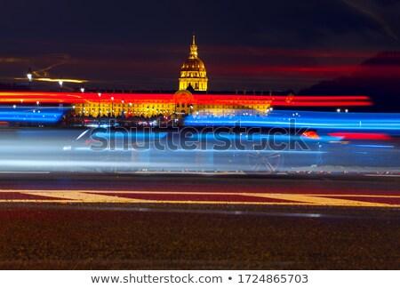 Les Invalides at night Stock photo © Givaga