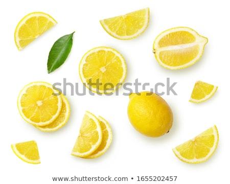 Tutto limone top view frutta Foto d'archivio © maxsol7