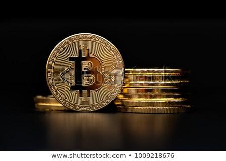 Bitcoin Conceptual Representation Cryptocurrency Stock photo © robuart