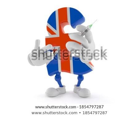 money and syringe on white background. Isolated 3D illustration Stock photo © ISerg