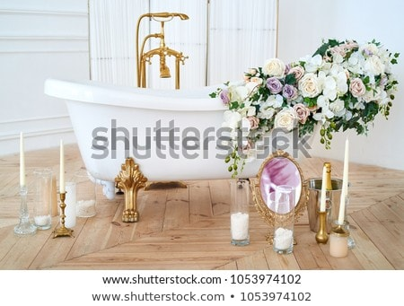 Interieur luxe vintage badkamer resort appartement Stockfoto © nomadsoul1
