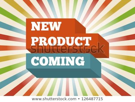 Binnenkort lijn stralen ontwerp web Stockfoto © SArts