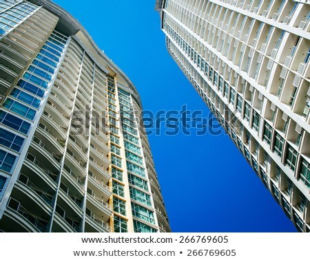 Gökdelen Bangkok daire hat yapı Stok fotoğraf © meinzahn