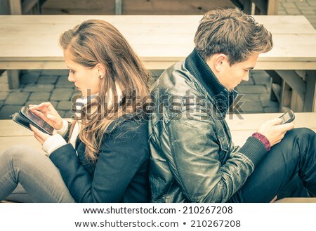 Moment of crisis in the relationship; concept Stock photo © georgemuresan