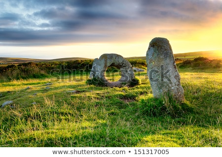 pierre · cercle · permanent · pierres · paysage · Voyage - photo stock © latent