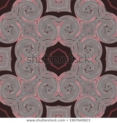 mértani · pontok · izometrikus · absztrakt · terv · elemek - stock fotó © Vanzyst