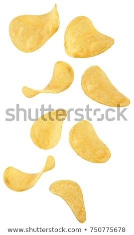 Salted potato crisps Stock photo © Digifoodstock